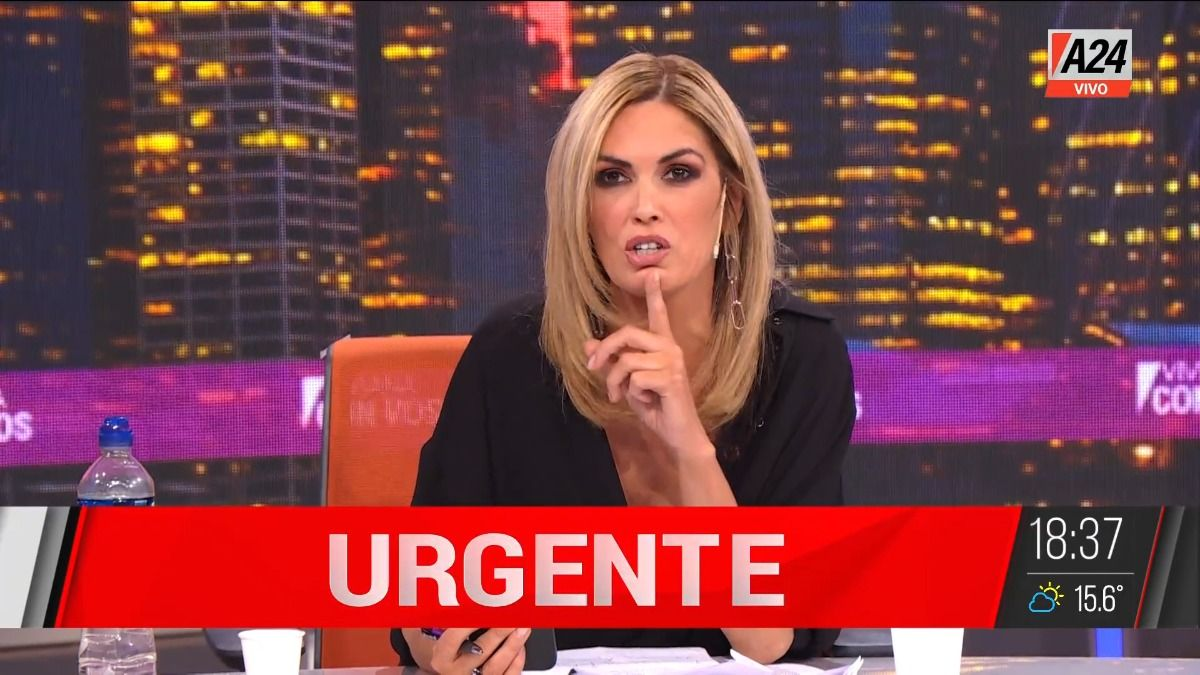 Viviana Canosa: Patricia Bullrich pide que también se baje María Eugenia Vidal.