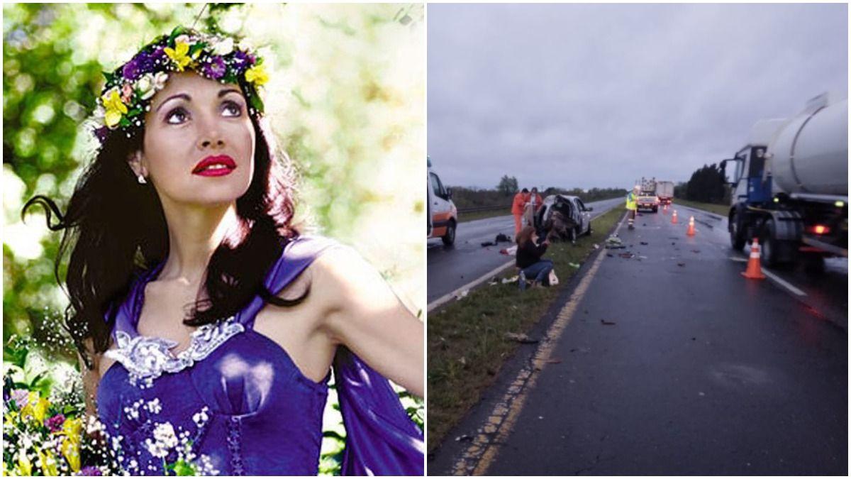 El accidente ocurrió en el kilómetro 108 de la ruta 12