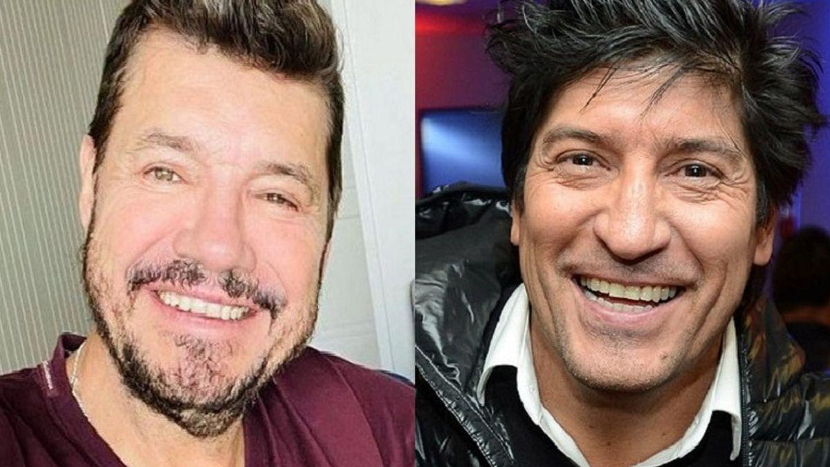 Insólito desafío entre Marcelo Tinelli y Bam Bam Zamorano