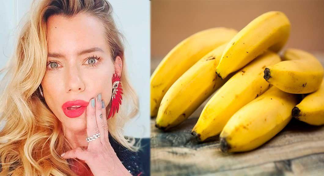 El particular consejo de Nicole Neumann sobre los beneficios de las bananas