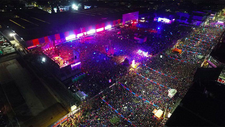 San Lorenzo celebró la vuelta a Boedo con una multitudinaria fiesta en el predio de Avenida La Plata