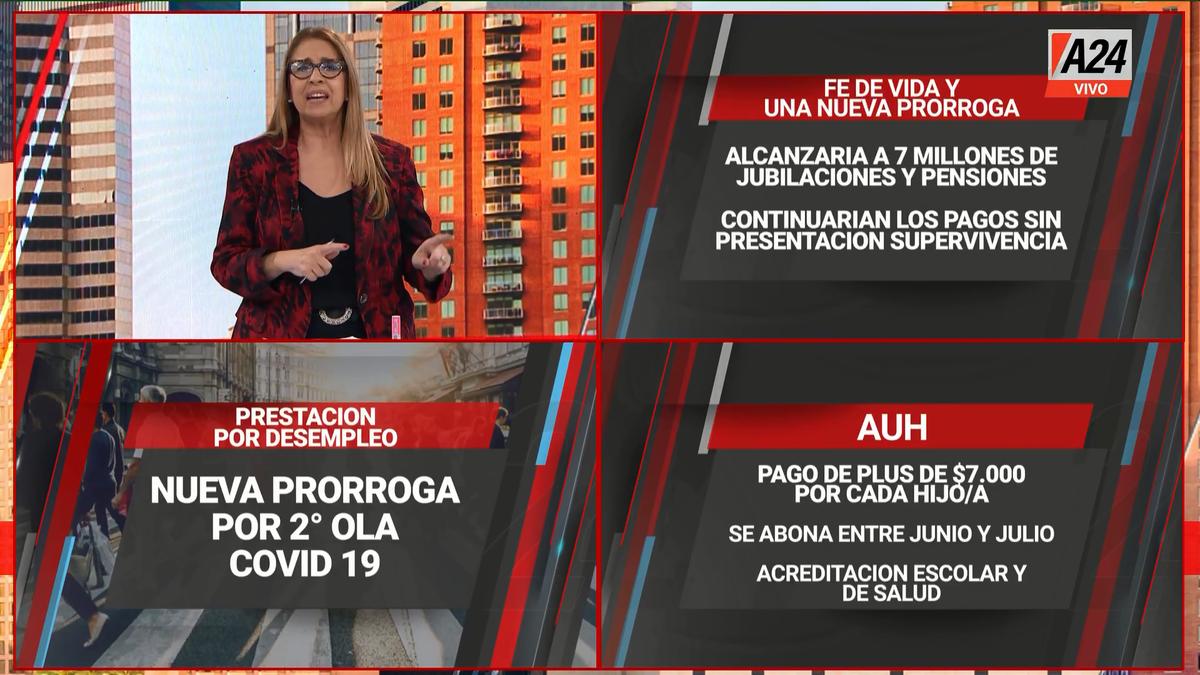 Clara Salguero adelantó novedades previsionales en su programa Lo Justo y Necesario