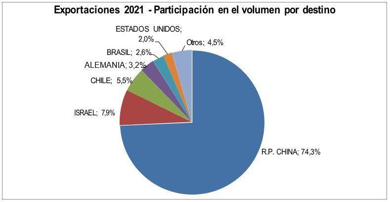 China es el principal destino de las exportaciones de carne vacuna argentina.