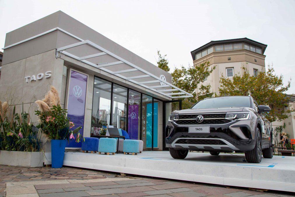 Volkswagen Argentina anuncia el inicio del recorrido de los pop-up stores de Taos