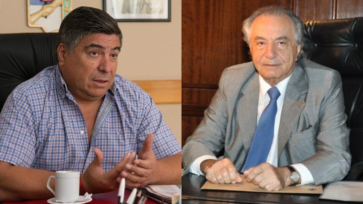 Ramón Muerza y Armando Cavalieri