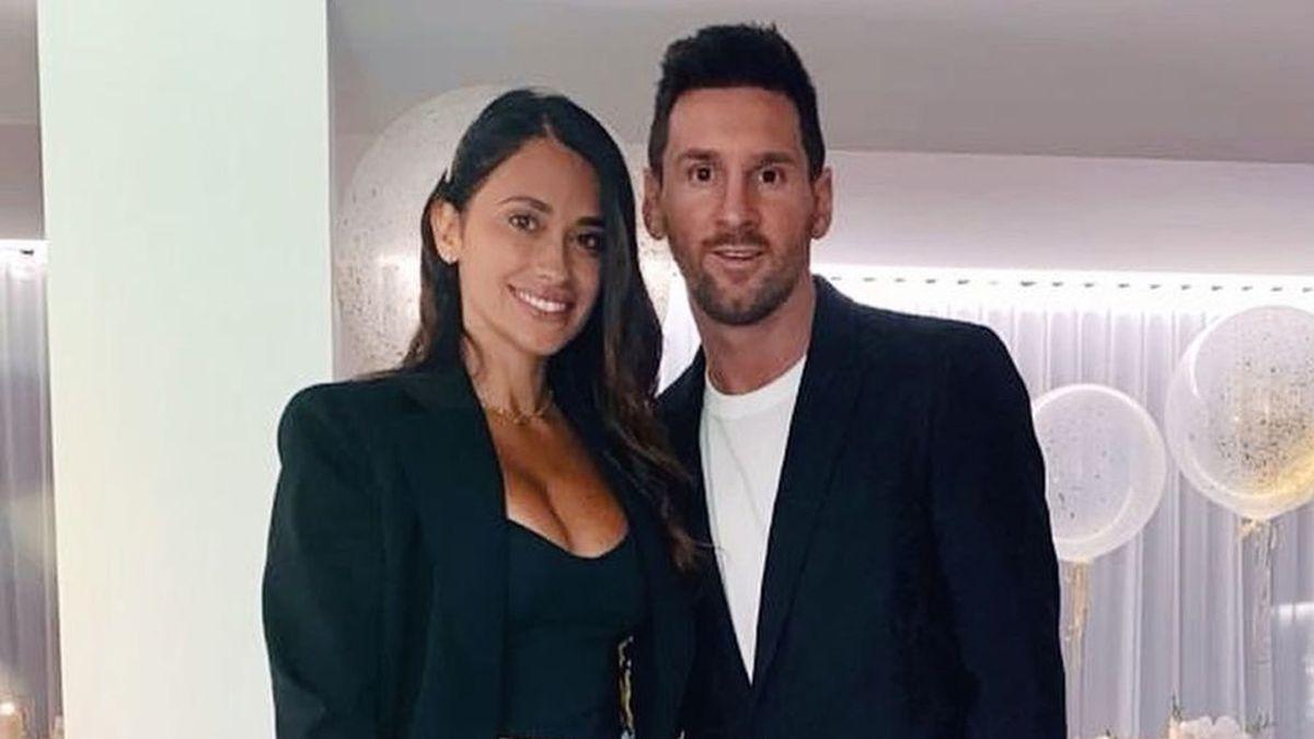 Antonela Roccuzzo compartió fotos de Lionel Messi de vacaciones