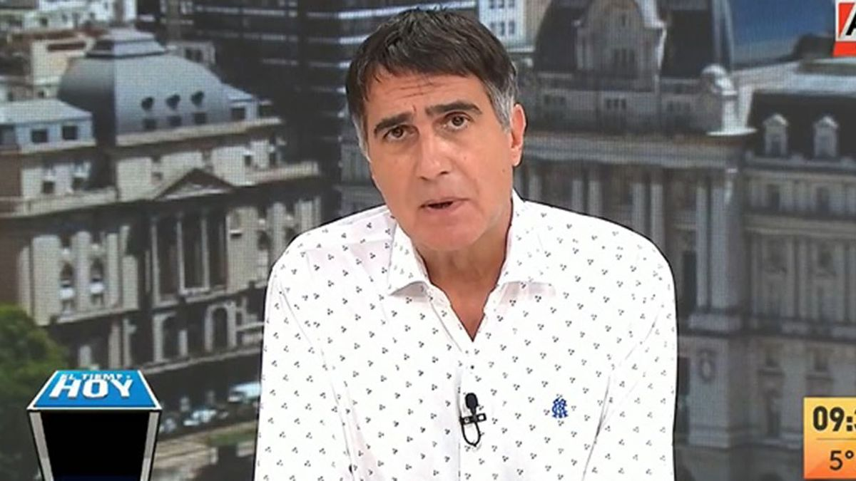 Santiago Cafiero admitió que existió