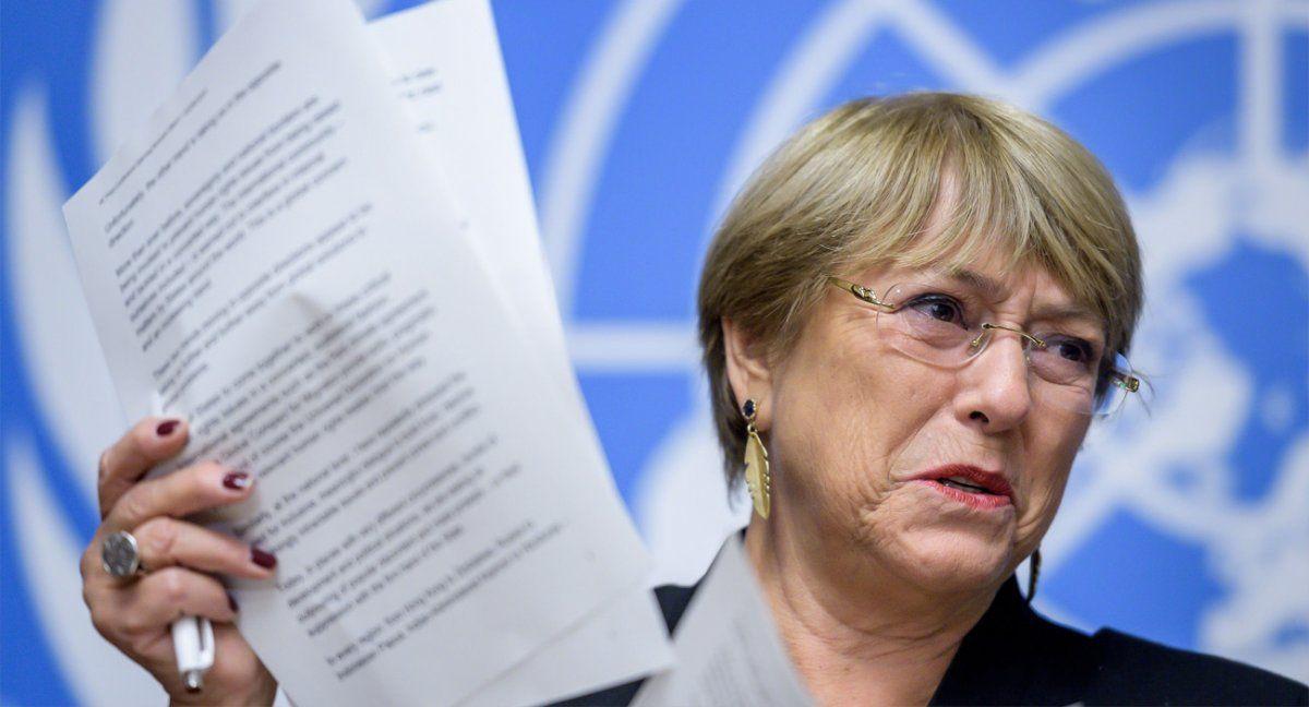 El Gobierno argentino relativizó las denuncias sobre violación a los derechos humanos en Formosa. Michelle Bachelet ratificó su informe en el Consejo de DDHH de la ONU.(Foto: Alto Com. DD.HH. de la ONU)