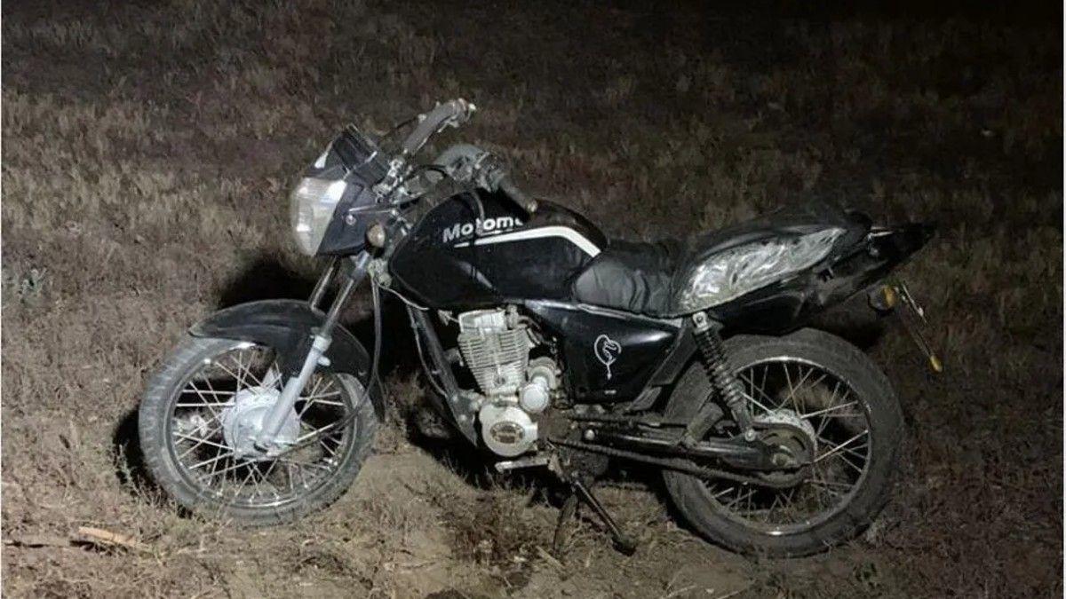 Vio una moto que iba sola. Ocurrió en 9 de Julio