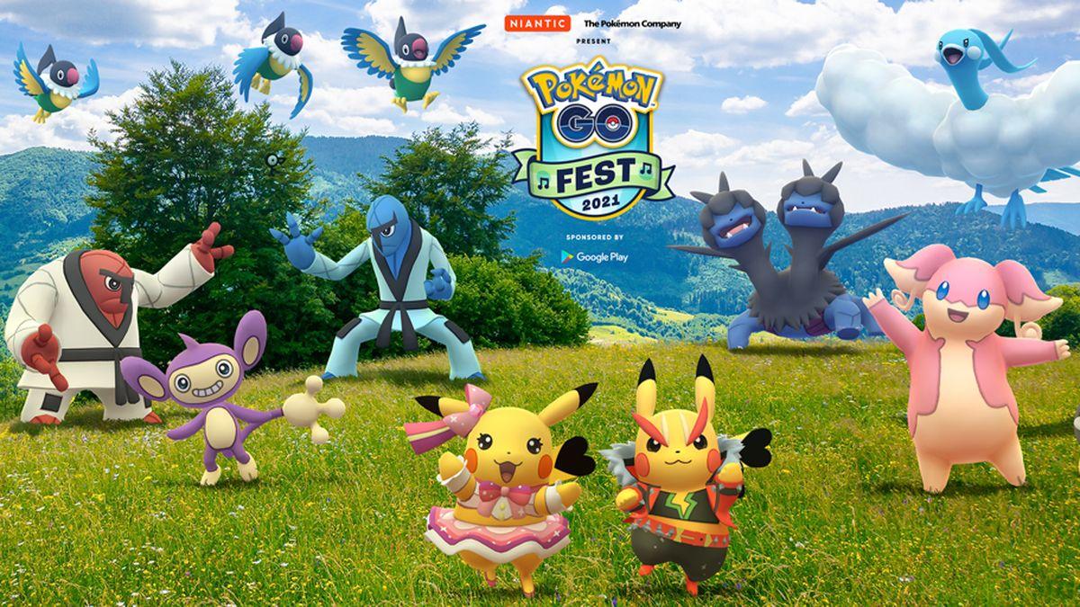 El 17 y 18 de julio tendrá lugar el Pokémon GO Fest 2021.