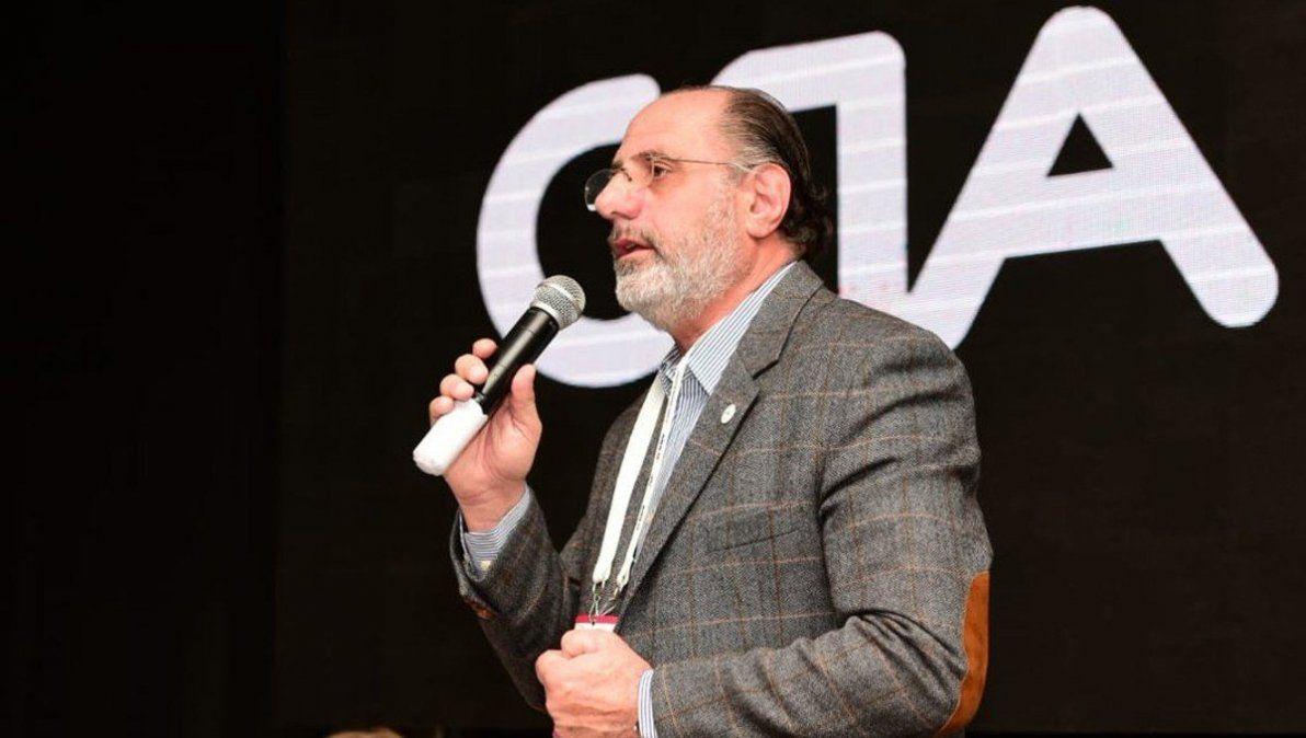 Jorge Chemes es el presidente de CRA. La entidad apoya el proyecto de Sergio Massa, pero con críticas.