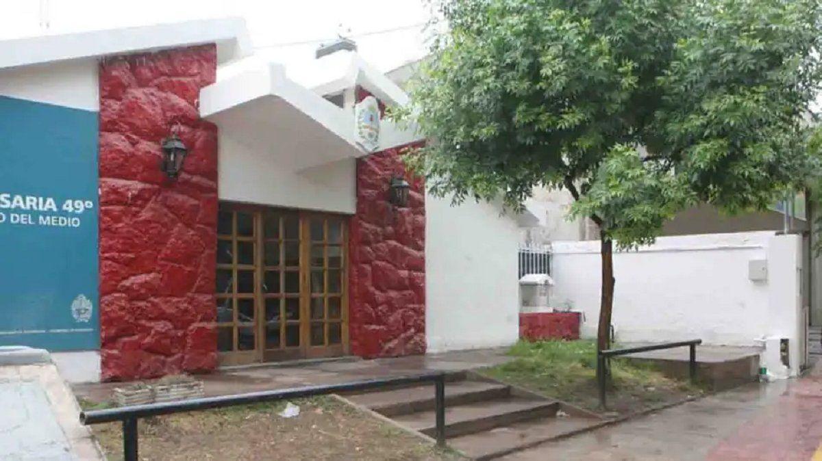 La Comisaría donde quedó detenido el padrastro de la nena de 12 años. Quería fugarse a Bolivia