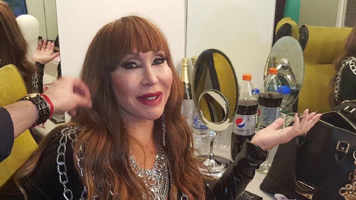 Moria Casán denunció que sufrió un robo en la peluquería de Miguel Romano