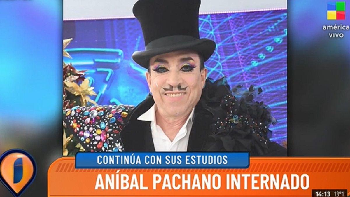 Internaron a Aníbal Pachano