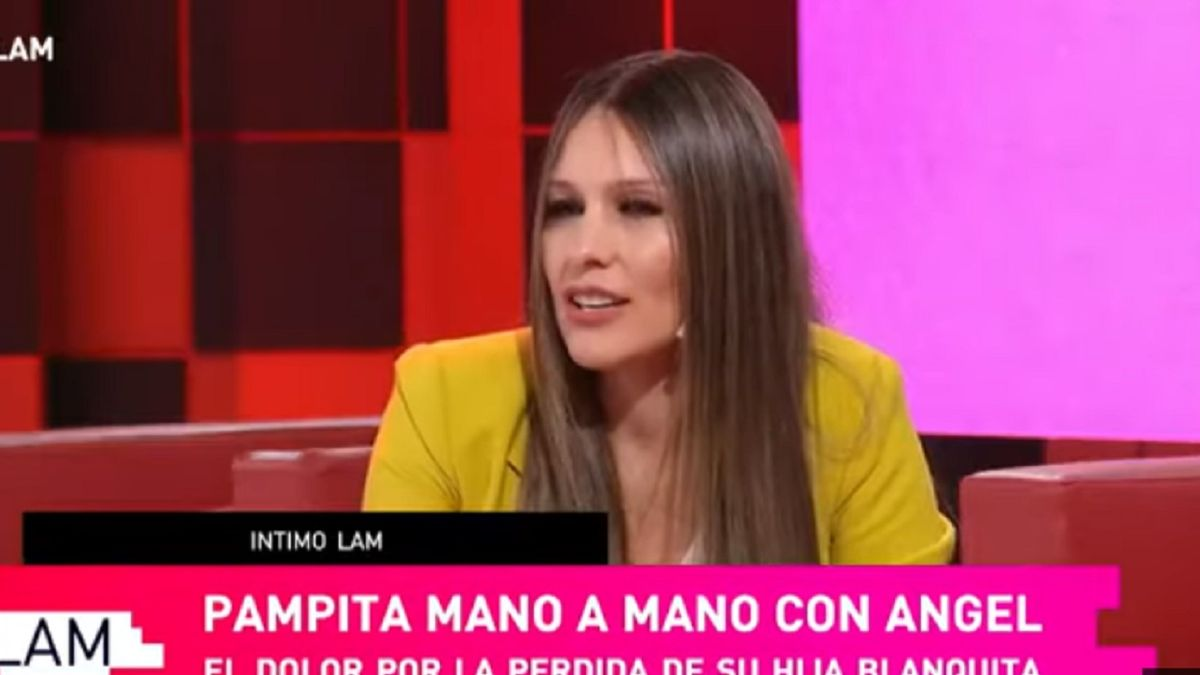 Pampita habló del dolor por la muerte de su hija Blanca