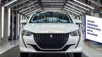 El Peugeot 208 festeja 20.000 unidades producidas