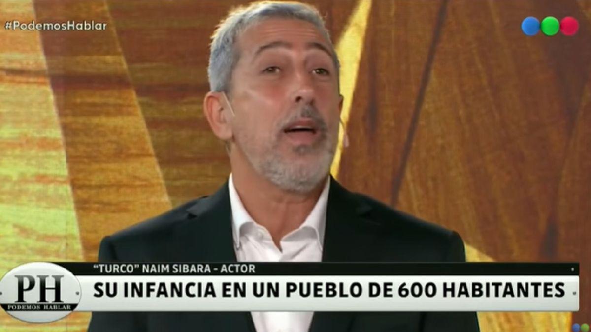 El Turco Naim lloró al recordar sus orígenes en La Pampa