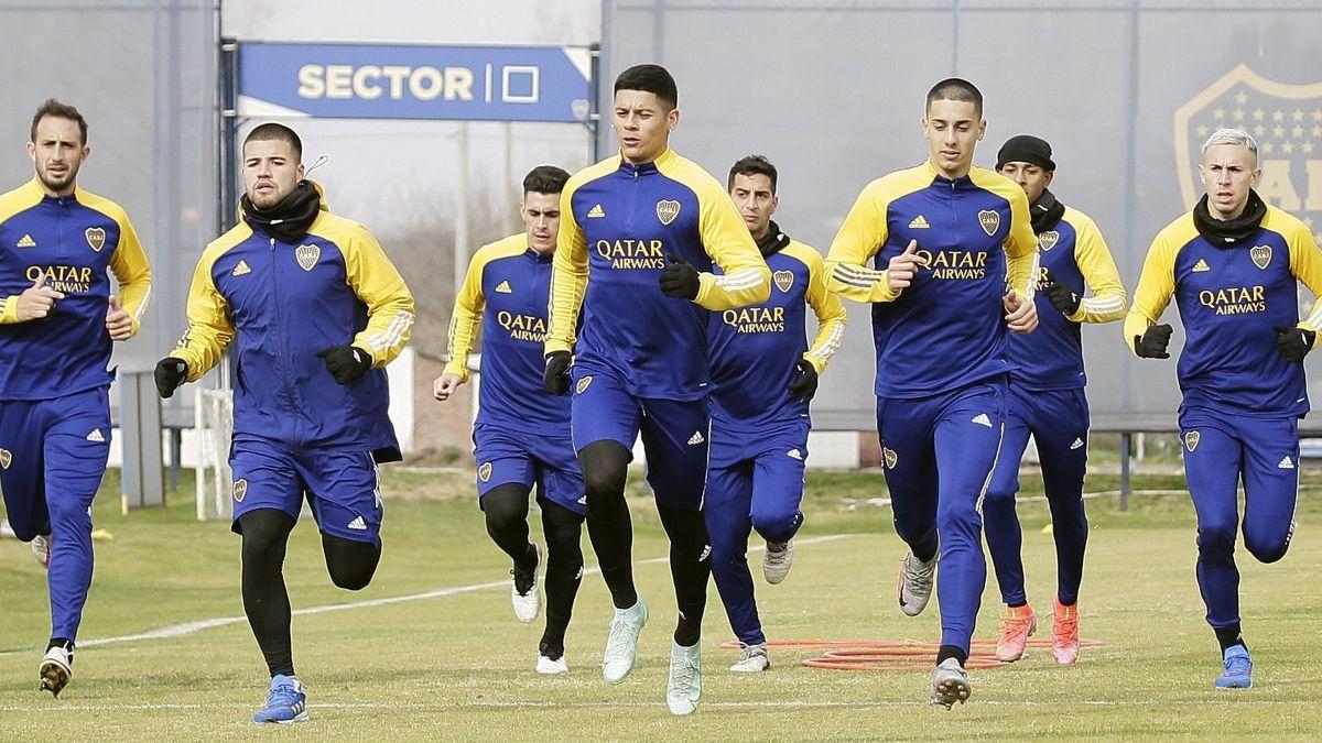 Boca se prepara para la Liga Profesional y la Copa Argentina.