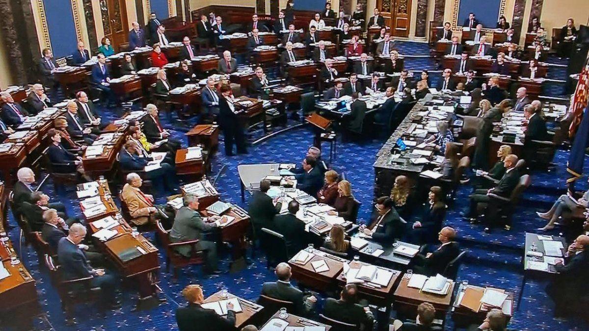 La mayoría republicana impuso las condiciones para tratar el impeachment a Trump en el senado