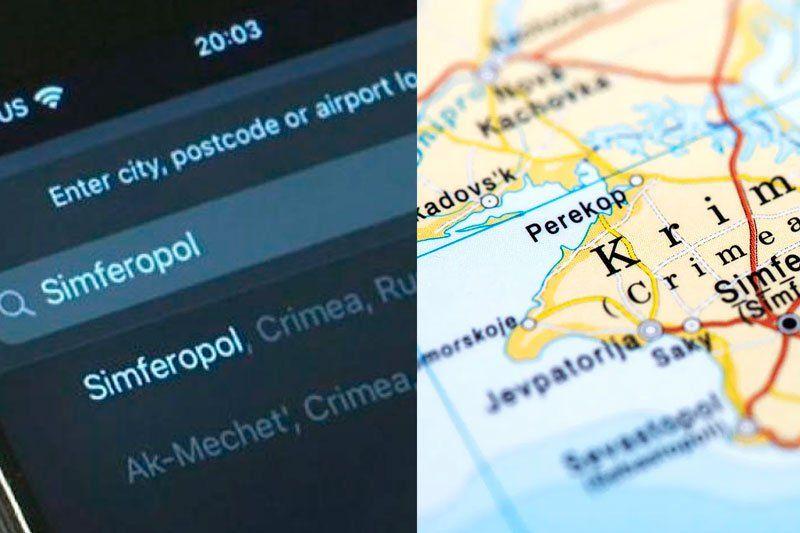 Apple puso en sus mapas a Crimea como parte de Rusia y desató el enojo de Ucrania