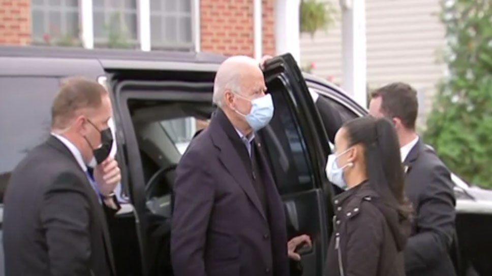 Biden, con más presencia del servicio secreto como custodia, otra señal de su inminente triunfo