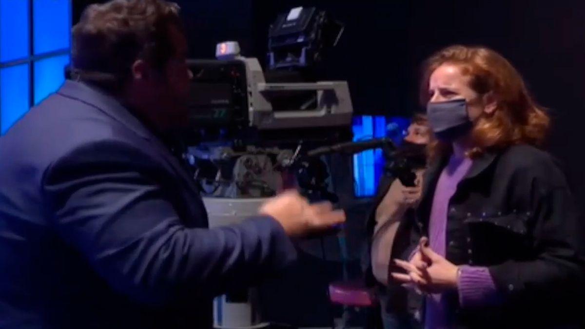 Darío Barassi discutió al aire con una productora