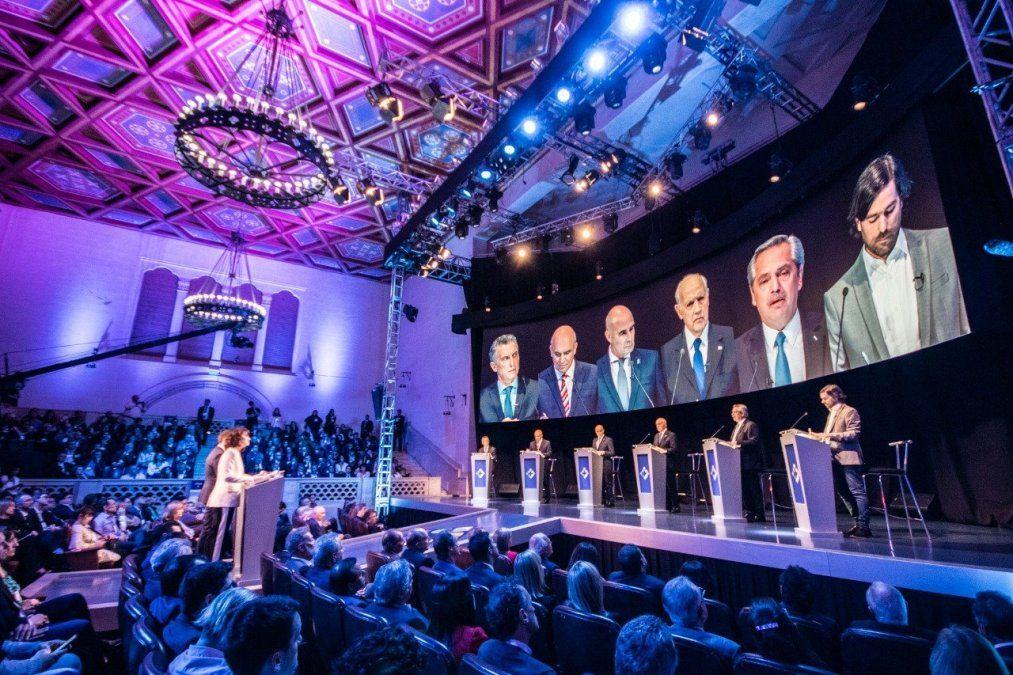 Debate 2019: el primer cruce picante entre Macri y Fernández fue por Venezuela