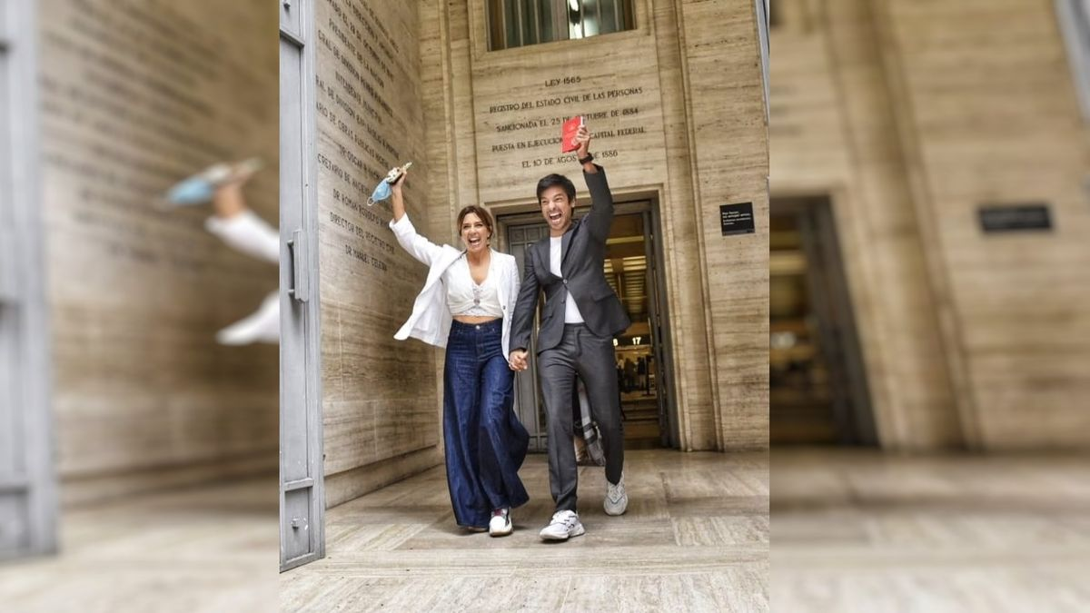 Se casó el Chino Leunis después de tres años en pareja
