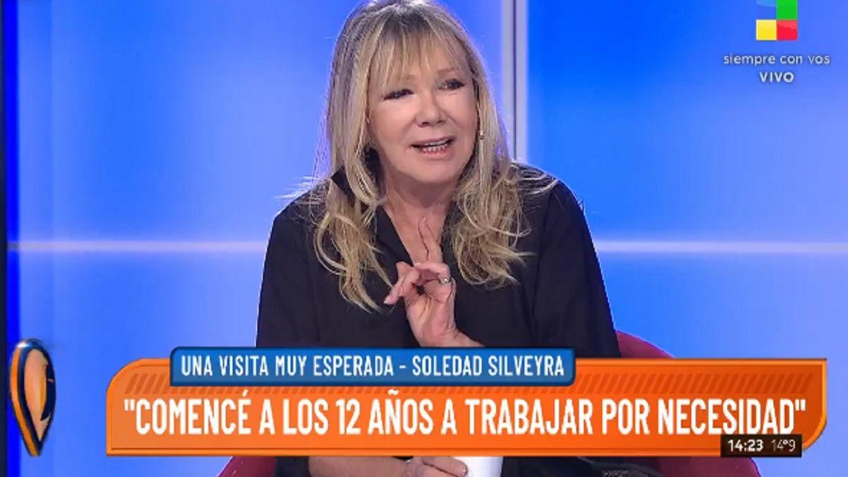 Soledad Silveyra: sus comienzos artísticos y el miedo al éxito