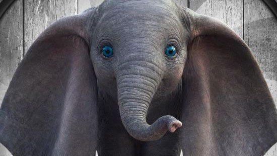 Disney encantó a todos con los primeros afiches de la película de Dumbo