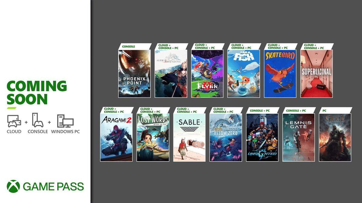 Microsoft anunció nuevos juegos que llegan a Xbox Game Pass durante septiembre.
