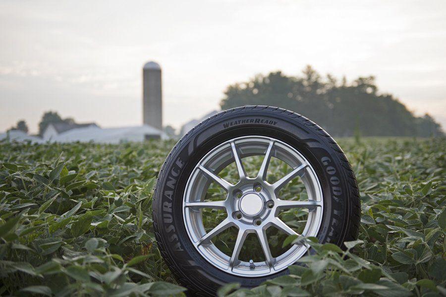 El uso de aceite de soja en Goodyear aumentó un 73% en el año 2020 con respecto al uso de 2019