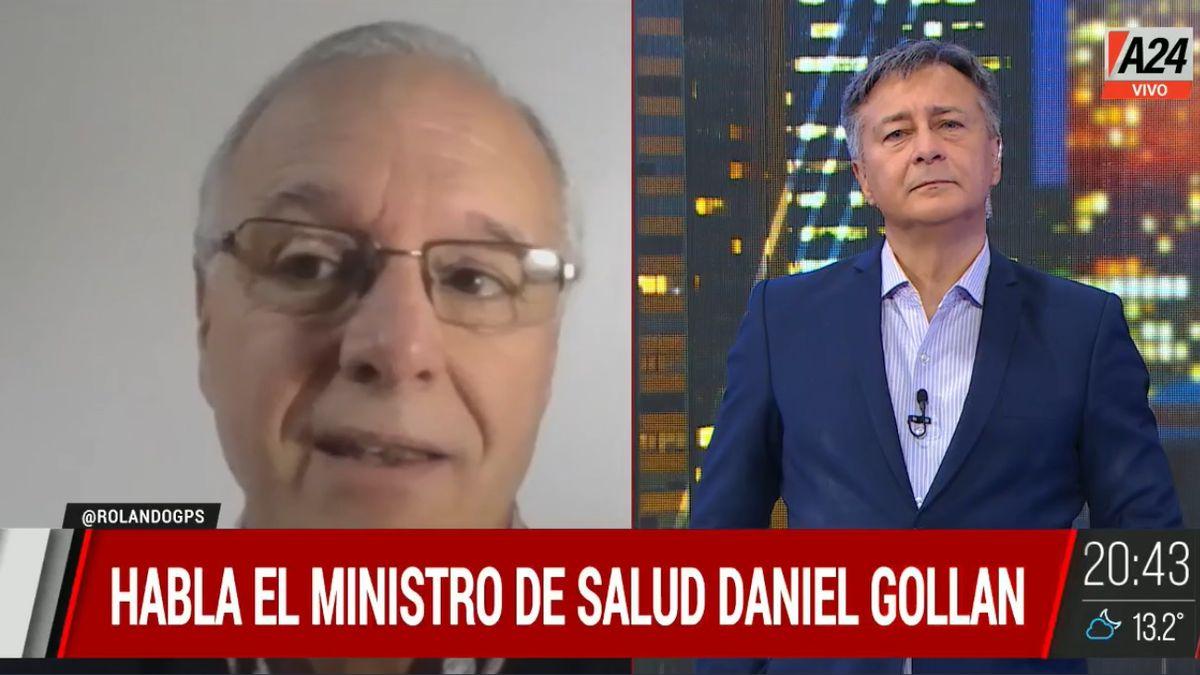 El ministro de Salud de bonaerense sostuvo que fue una decisión sabía la del presidente tras el triunfo de la Copa América.