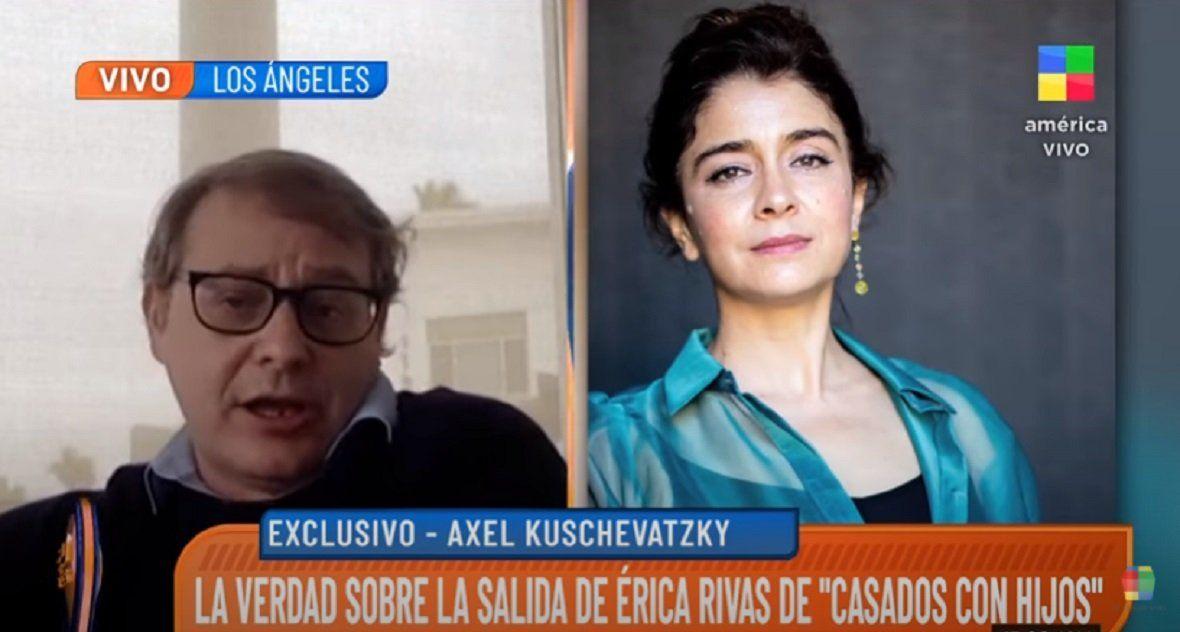 Axel Kuschevatzky habló de la polémica salida de Érica Rivas de Casados con hijos