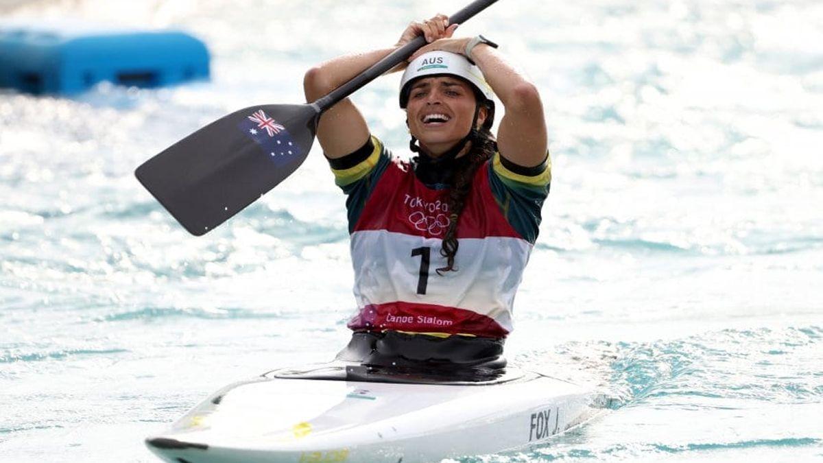Ganó una medalla con un kayak arreglado con un preservativo