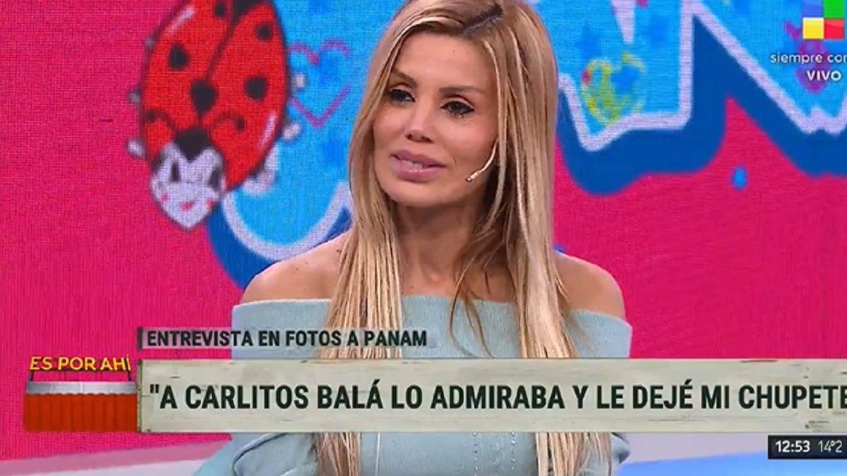 La emoción de Panam al hablar del gran Carlitos Balá