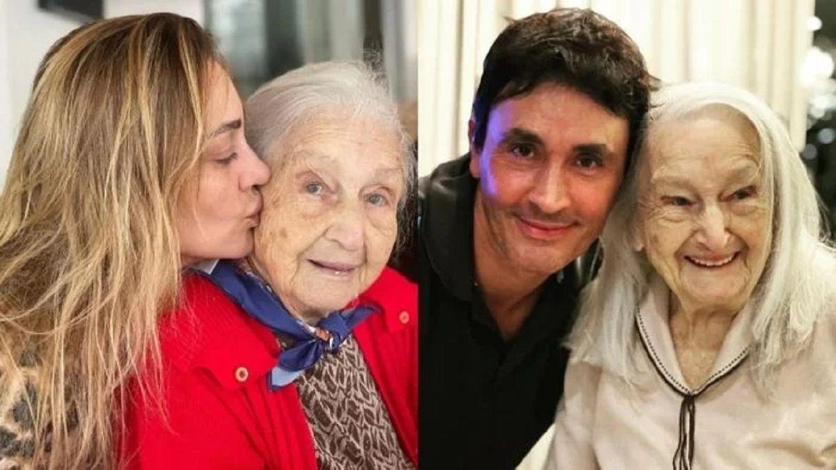 La tristeza de Sebastián y Sol Estevanez por la muerte de su abuela Amanda
