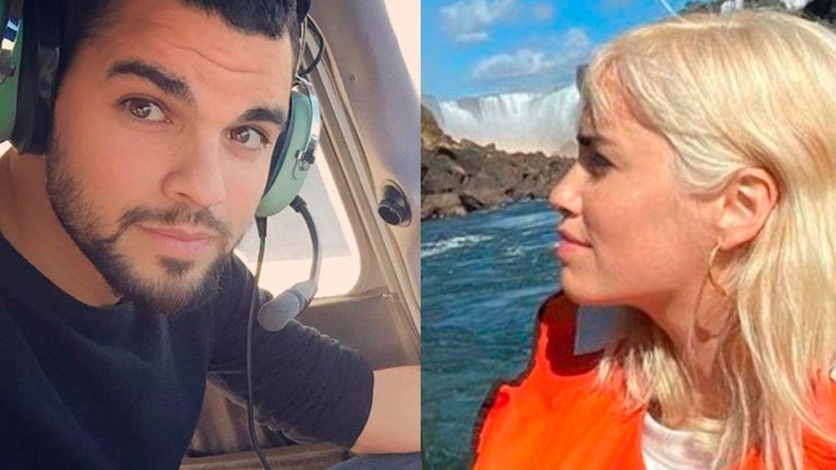 Lali Espósito y su nuevo novio viajaron a las Cataratas del Iguazú .