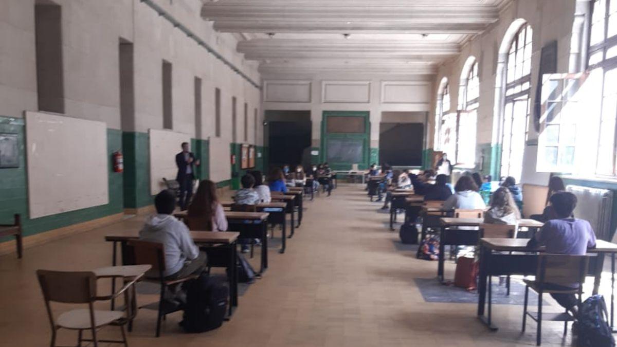 Los docentes del Colegio Nacional de Buenos Aires rechazaron volver a las clases presenciales. Foto: Archivo.