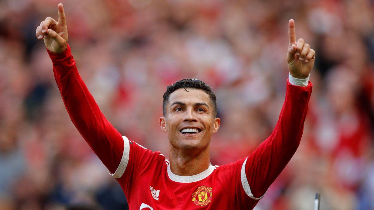 Cristiano Ronaldo volvió a Manchester United con un doblete.