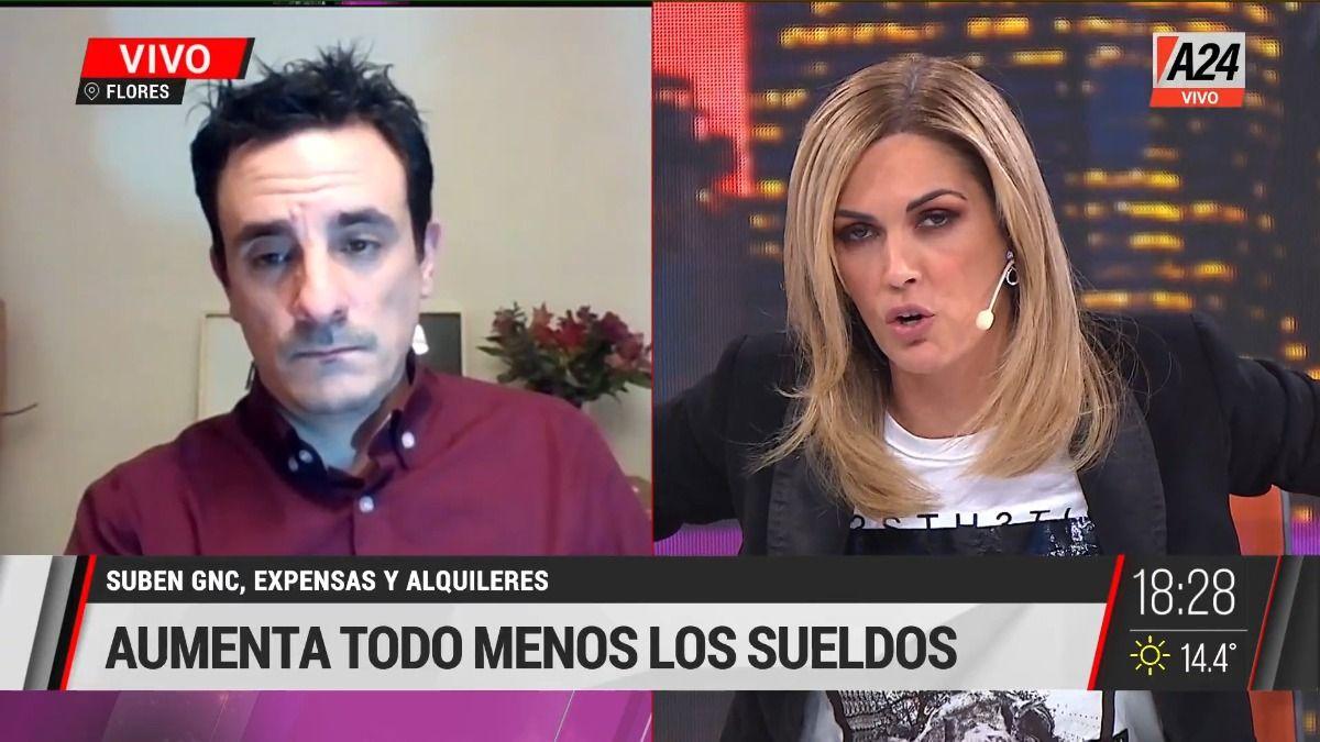 Viviana Canosa y el riesgo de la variante Delta: Ni se les ocurra volver a encerrarnos.