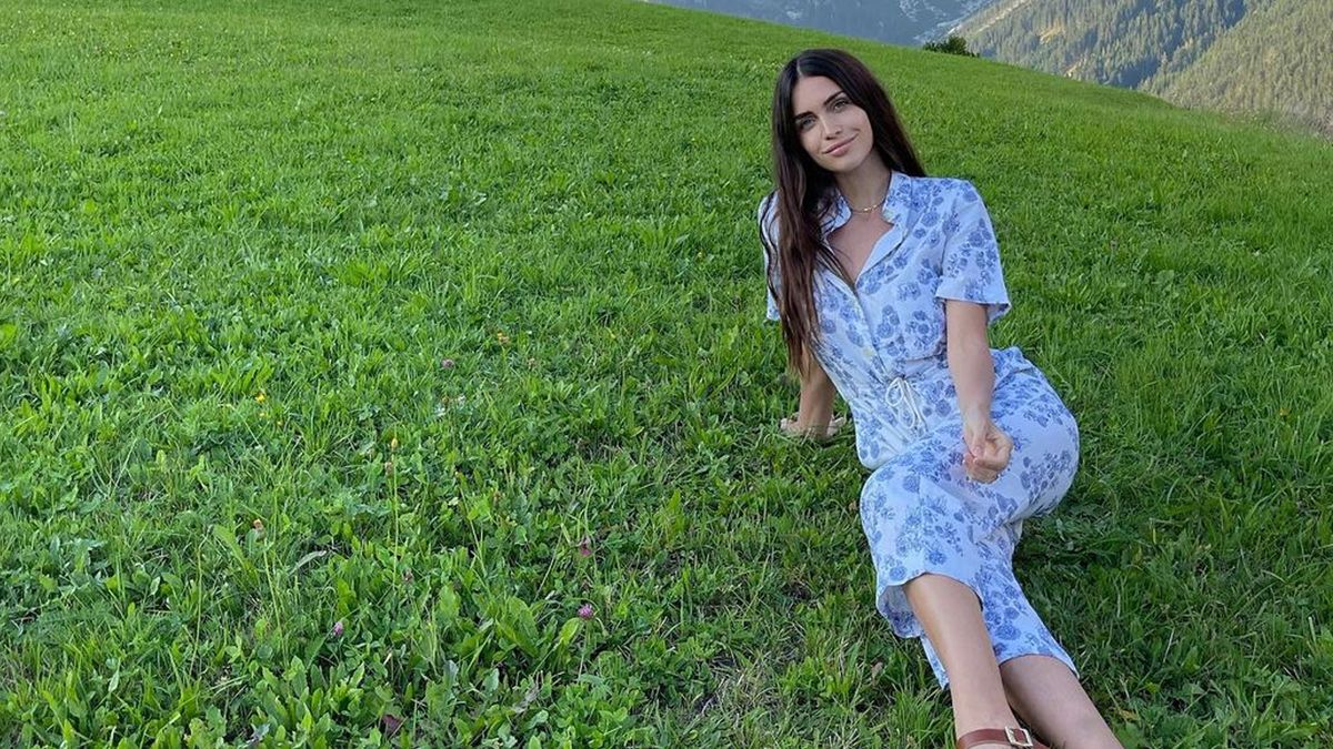 Zaira Nara, la Heidi en bikini en la montaña de Austria