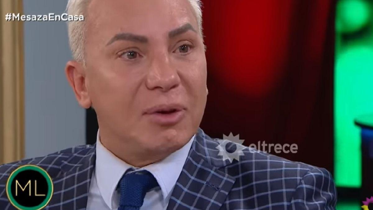 Las lágrimas de Flavio Mendoza por la crisis económica en Argentina