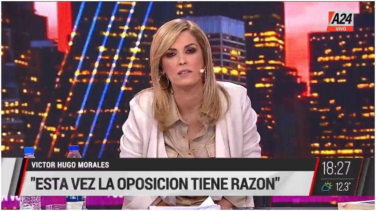 ¡Qué hable Fabiola!: el duro editorial de Viviana Canosa por la reunión en Olivos.
