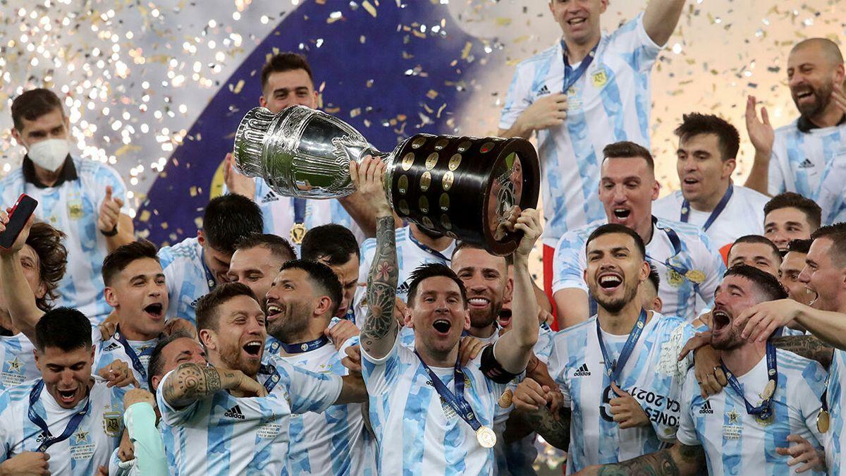 Argentina se consagró campeón de la Copa América 2021