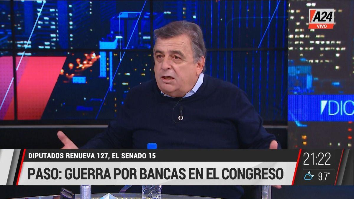 Mario Negri: En estas elecciones se discute el deterioro de la democracia.
