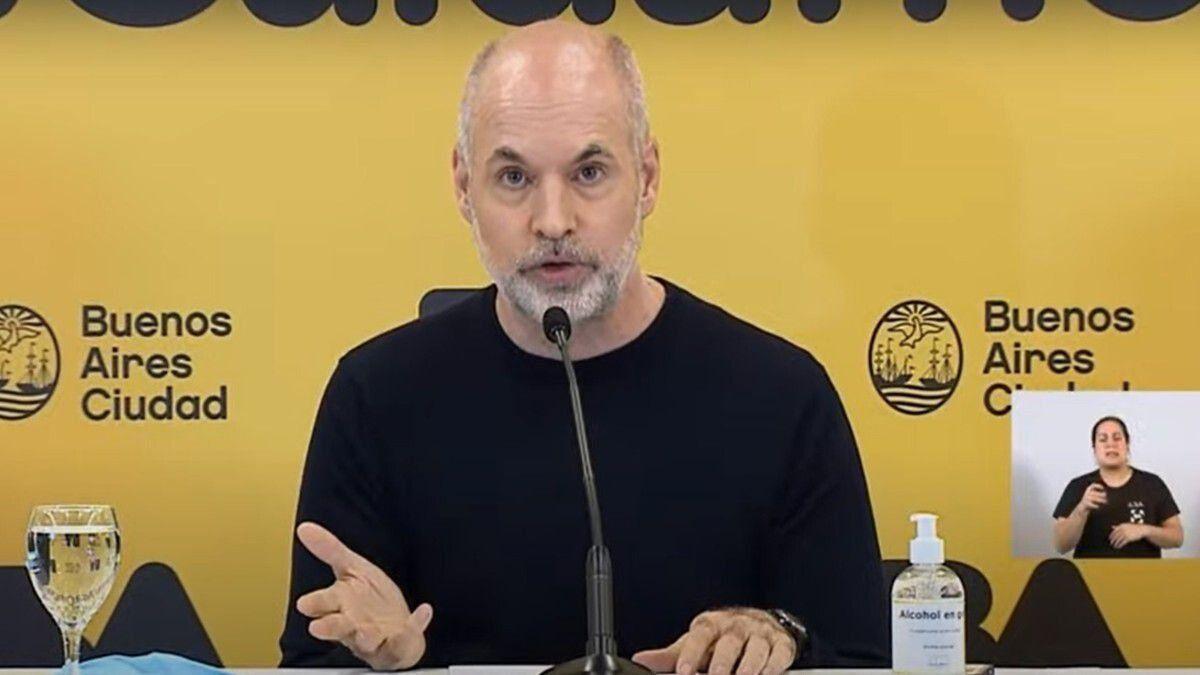Horacio Rodríguez Larreta anunciará la apertura de actividades y el fin de restricciones.