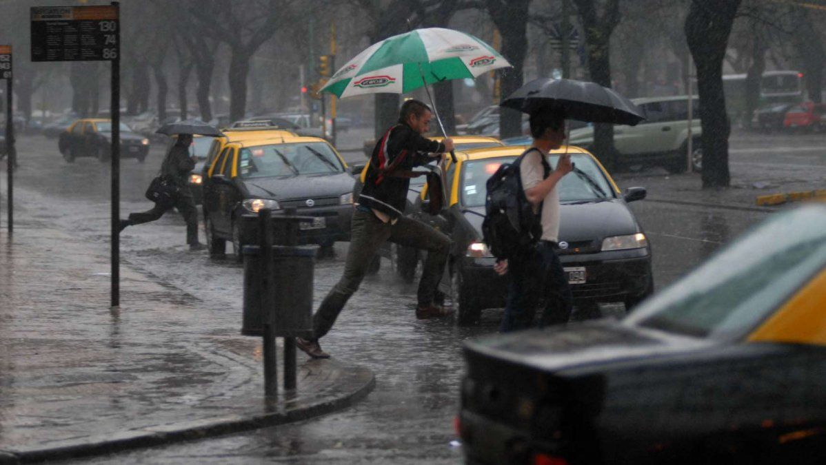 Alerta meteorológica en Capital Federal y provincia de Buenos Aires por tormentas fuertes y posible caída de granizo