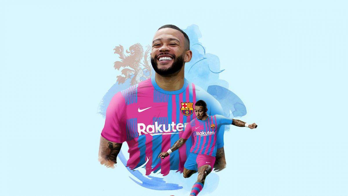 Memphis Depay es nuevo jugador de Barcelona.