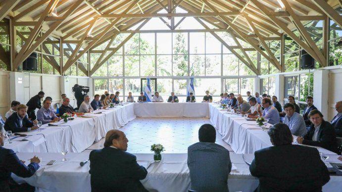 La fuerte arenga de Alberto Fernández a Máximo Kirchner y a intendentes en Olivos